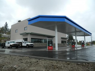Service Stations Wenatchee Yakima WA Joe Park Construction